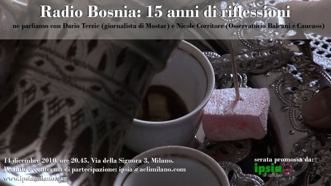 Radio Bosnia: 15 anni di riflessioni