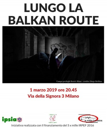 IPSIA organizza un incontro sulla Balkan Route a Milano